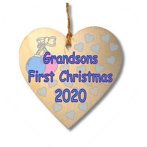 Grandsons First Christmas-