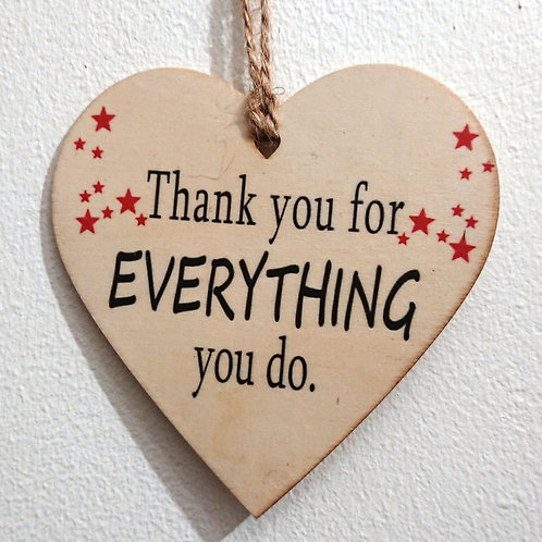 Thank you for Everything -