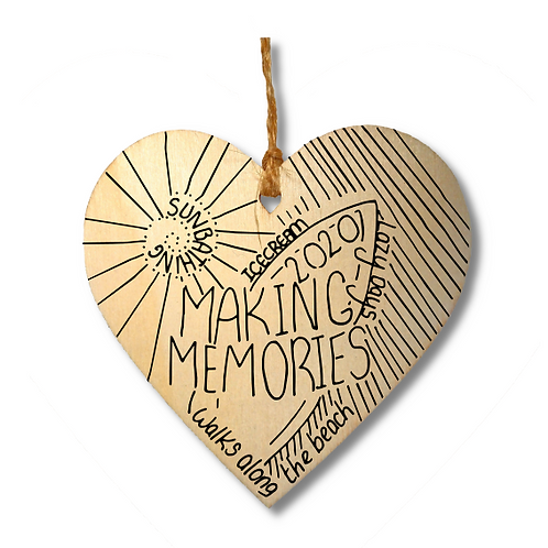 Making Memories Holiday Heart-