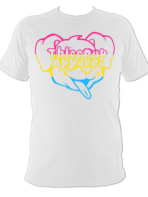 Pansexual Pride Flag Tee 1 (White)