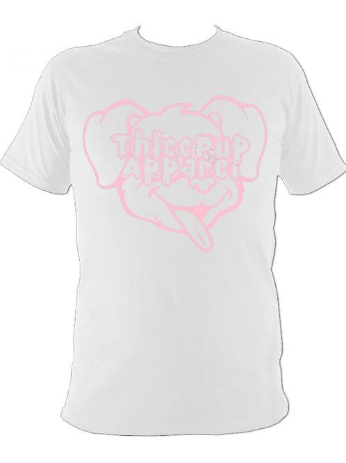 Large Logo Pink/White