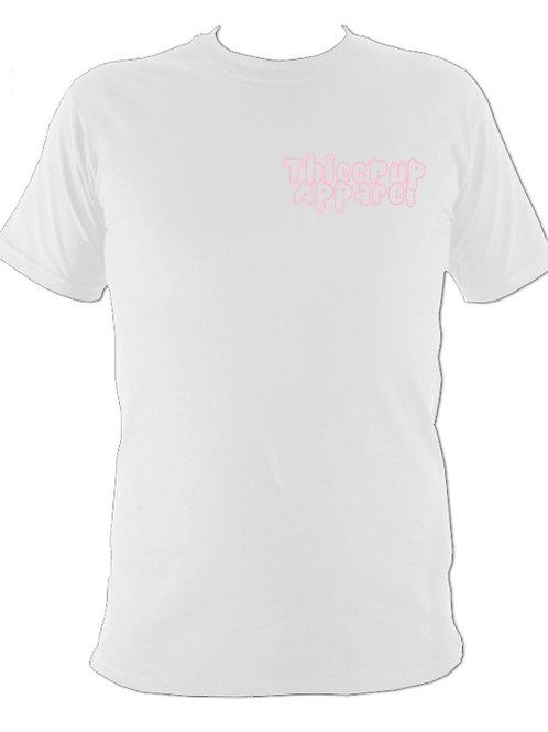 Basic Logo Pink/White