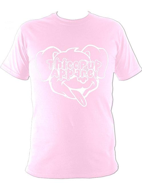 Large Logo White/Pink