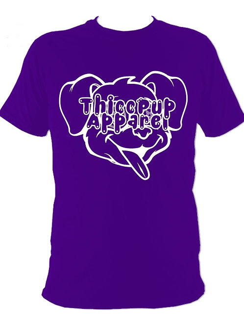 Large Logo White/Purple