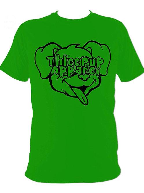 Large Logo Black/Green
