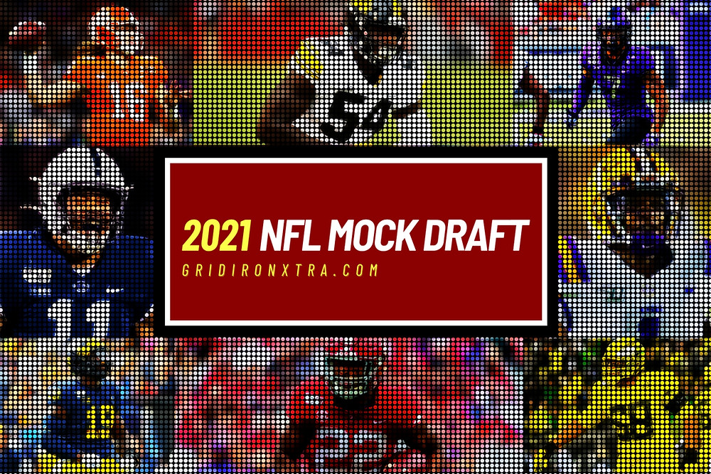 This is our latest 2021 NFL Mock Draft. Here at Gridiron Xtra we provide the UK's most comprehensive 2021 NFL Draft coverage, for all your draft needs including prospect rankings, rankings by position and draft rumours. See our first round mock draft here.