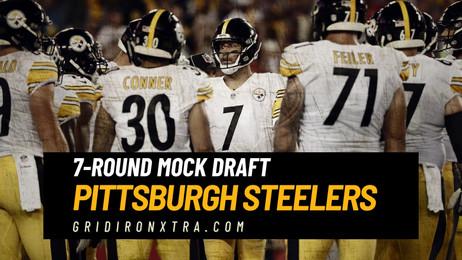 Full Pittsburgh Steelers 7-Round NFL Mock Draft