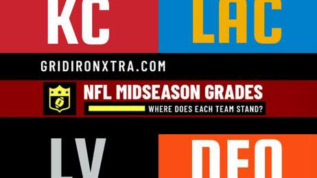 NFL Midseason Grades: AFC West