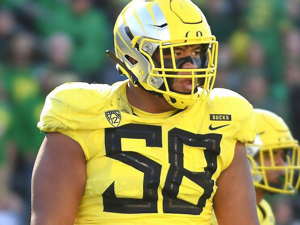 Penei Sewell, Oregon Ducks is the top ranked offensive tackle in the 2021 NFL Draft. He should be a rock solid top 5 pick and he is top of our board here at Gridiron Xtra.