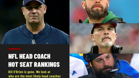 NFL Hot Seat Rankings: Who will be the next Head Coach to be fired?