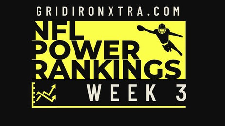 NFL Power Rankings: Week 3
