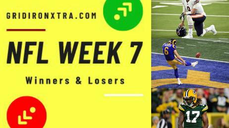 NFL Week 7: Winners and Losers