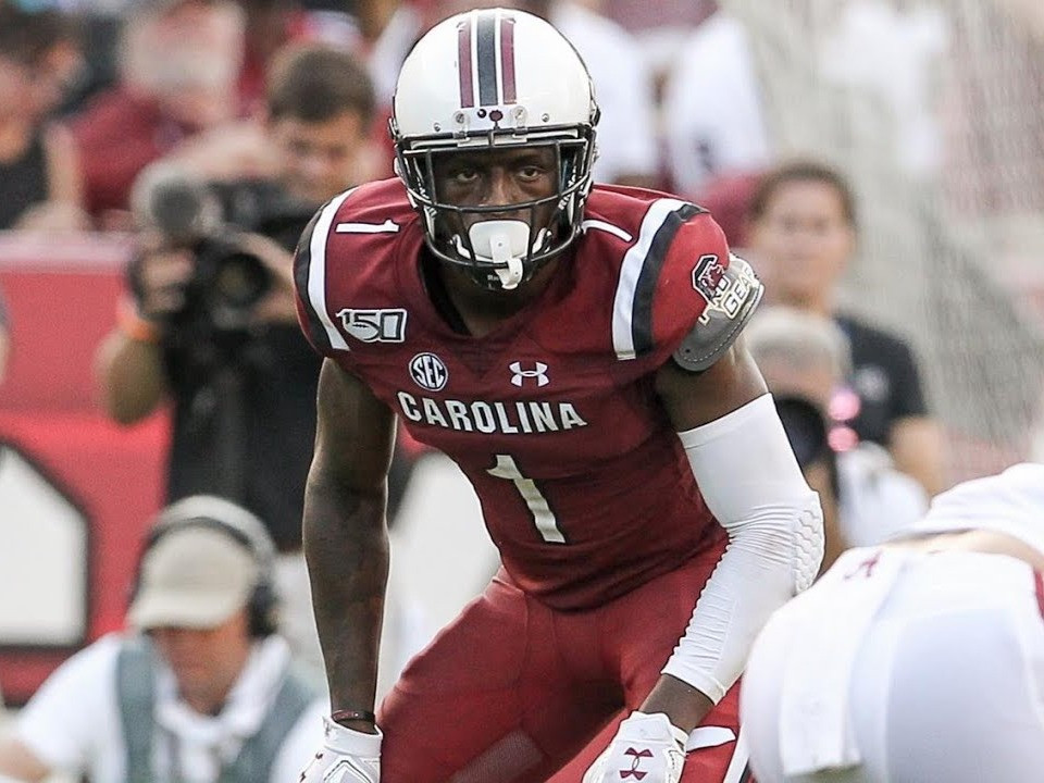 Will South Carolina Gamecocks' Jaycee Horn be a first round 2021 NFL Draft pick. Tennessee Titans select him at number 22 overall in our mock draft.
