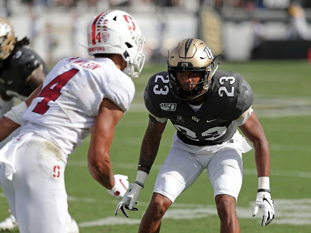 UCF's cornerback Tay Gowan could be an excellent selection and should outperform his draft stock.