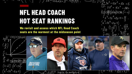 NFL Hot Seat Rankings: Midseason Edition