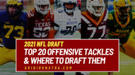 Ranking the Best Offensive Tackles in the 2021 NFL Draft