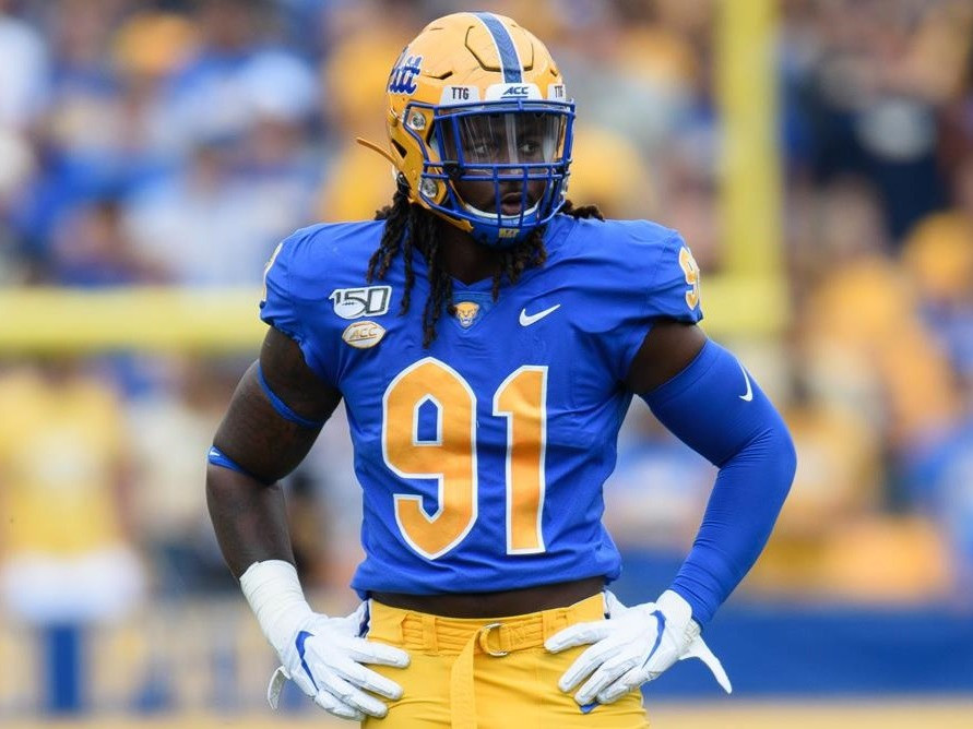 Patrick Allen Jones II is an American college football defensive end for the Pittsburgh Panthers. In April, Patrick Jones will enter the 2021 NFL Draft and may end up as a first round pick.