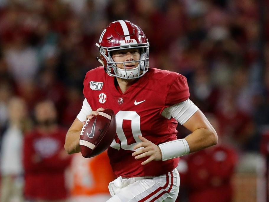 Alabama quarterback could be the future in New England. In this 2021 NFL mock draft, we have Bill Belichick and the Patriots selecting their QB of the future.