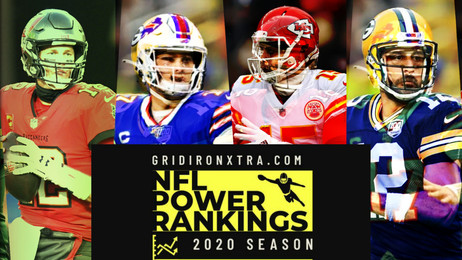 NFL Power Rankings: Will Rodgers and Mahomes Duel for a Super Bowl?