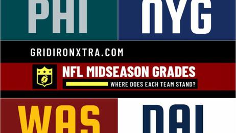 NFL Midseason Grades: NFC East