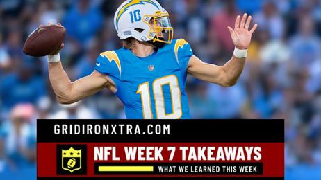 NFL Week 7 Takeaways: What We Learned This Week