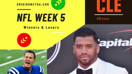 NFL Week 5: Winners and Losers