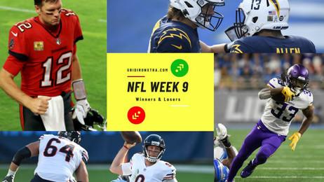 NFL Week 9: Winners and Losers