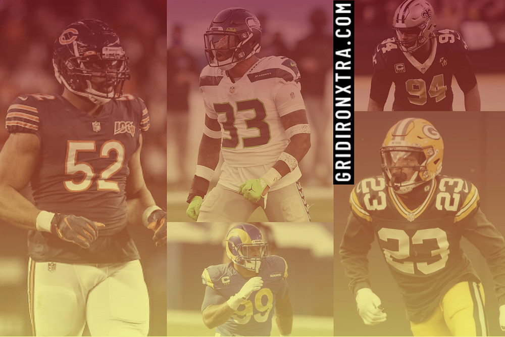 Khalil Mack of the Chicago Bears, Jamal Adams of the Seattle Seahawks, Cameron Jordan of the New Orleans Saints, Aaron Donald of the Los Angeles Rams and Jaire Alexander of the Green Bay Packers will all represent the NFC Conference in the NFL Virtual 2021 Pro Bowl on January 31 which will be played on EA's Madden 21 video game