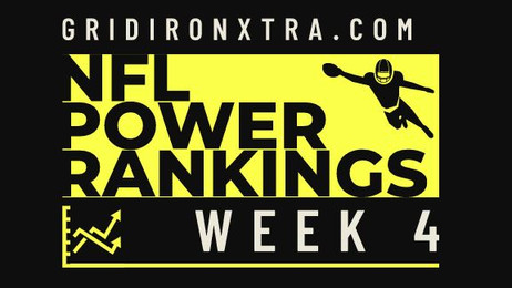 NFL Power Rankings: Week 4