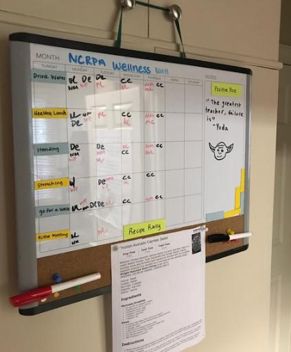 The NCRPA Wellness Wall