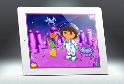 Dora Dress-Up - iOs - 2011