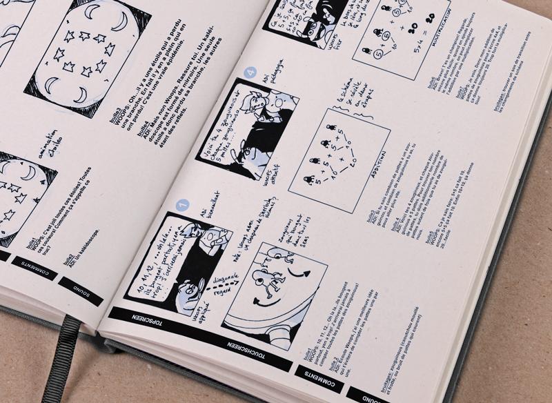 ADI l'Entraîneur - Storyboard