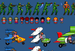 Pixel art samples
