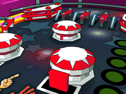 Funky Cops Pinball - 3D low poly