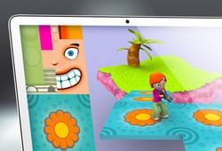 modèles 3D pour un FPS - 2004