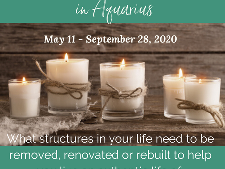 Saturn Retrograde in Aquarius on May 11, 2020