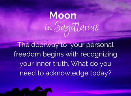 Moon moves into in Sagittarius on May 8, 2020