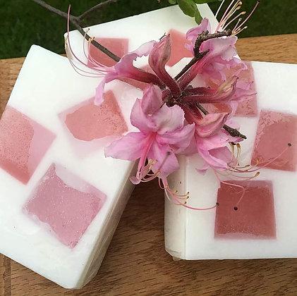 Honeysuckle Goats Milk Soap