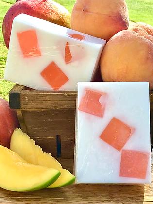 Mango Peach scented soap