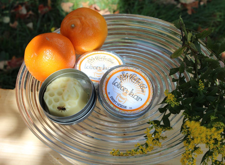 Dry cracked hands from hand sanitizer? Try our lotion bars!