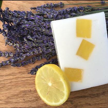 Lemon Lavender scented Goats Milk Soap