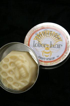 Orange Beeswax Lotion Bar