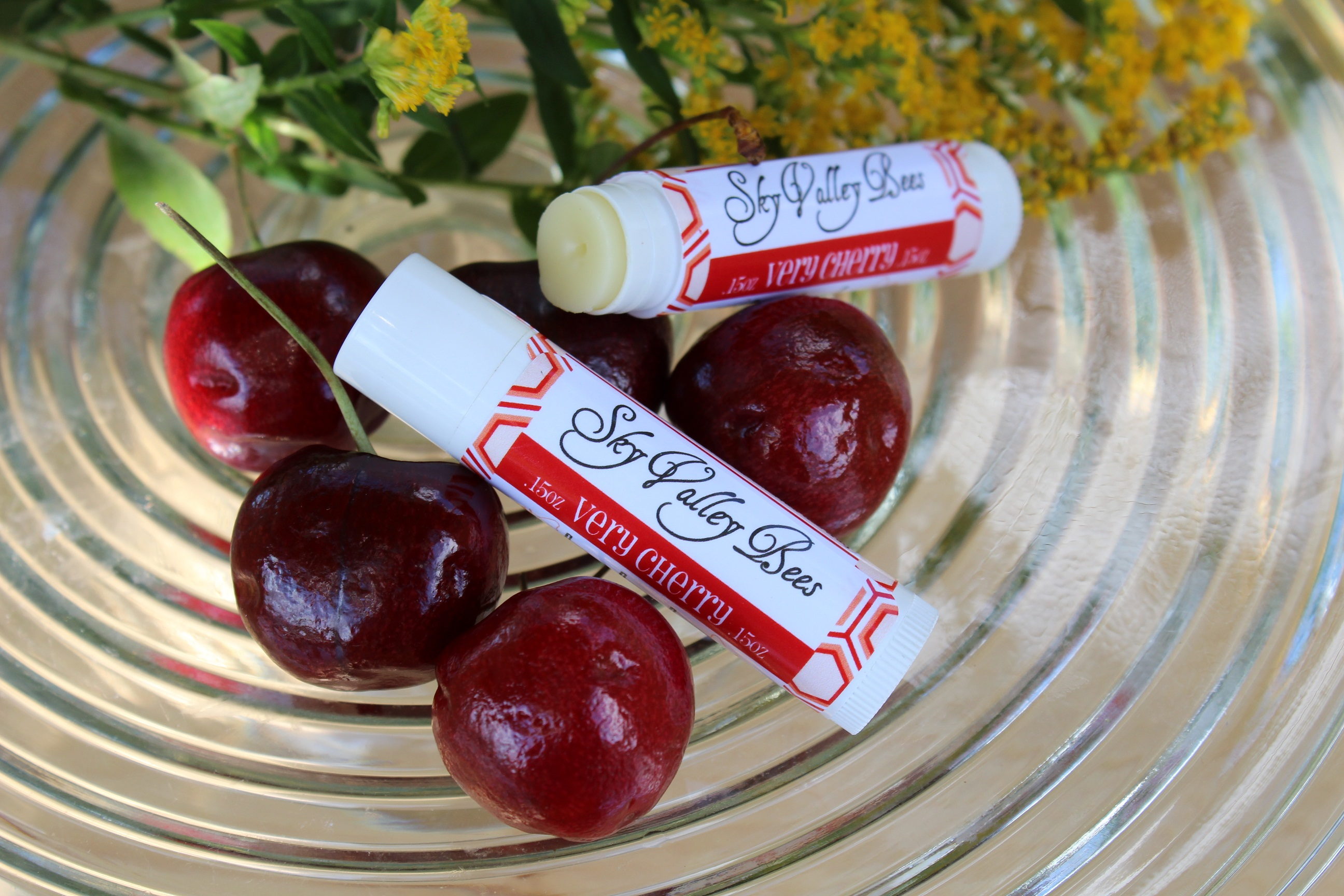 Sky Valley bees Cherry lip Balm