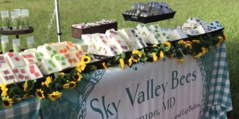 Sky Valley Bees Roadside Soap Sale