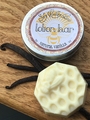 Vanilla Beeswax Lotion Bar