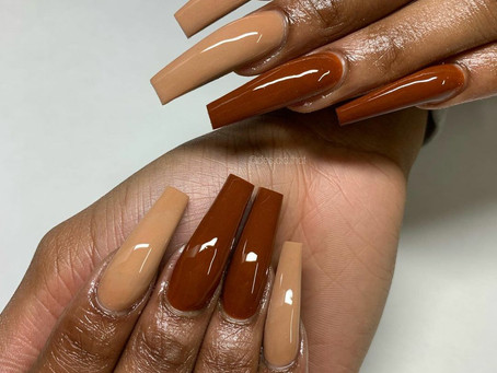 Fall Trend! Chocolate Nails!