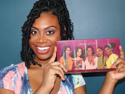 Let's Talk: Beauty Of Colour Cosmetics Melanin Treasure Palette Review