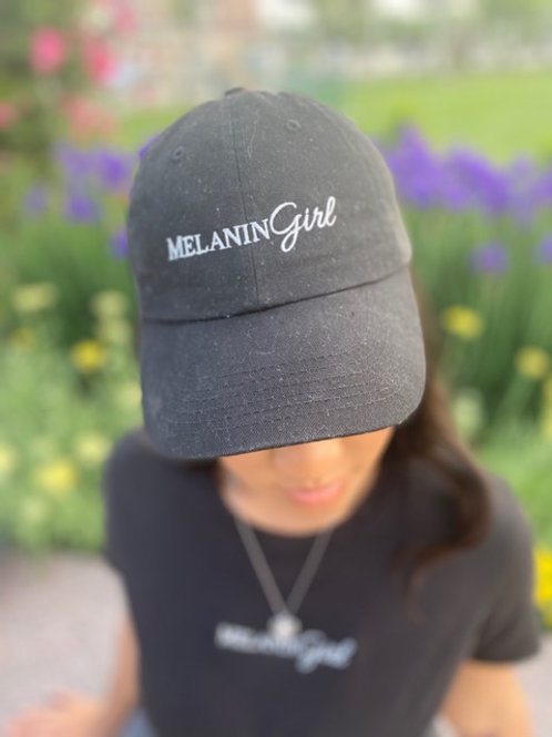 Embroidered MelaninGirl hat