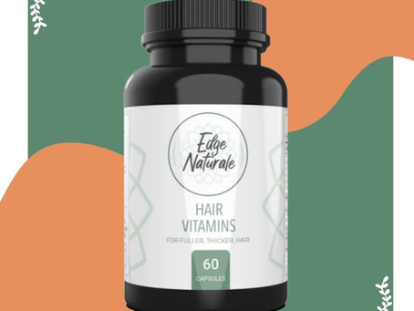 Review: Edge Naturale the Hair Vitamin Supplement for Fuller and Thicker Hair