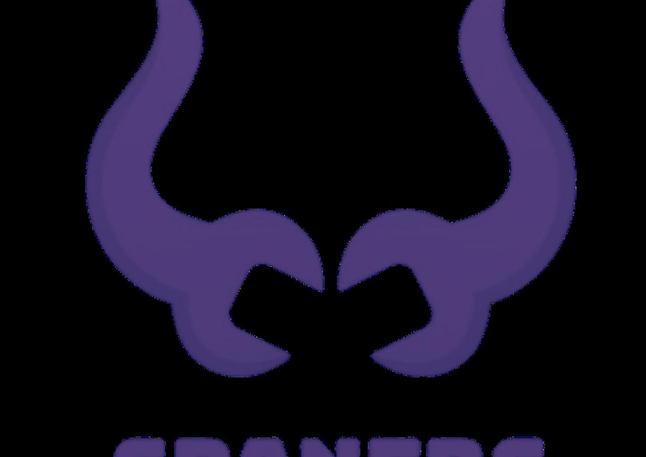 Spaners logo violet variation